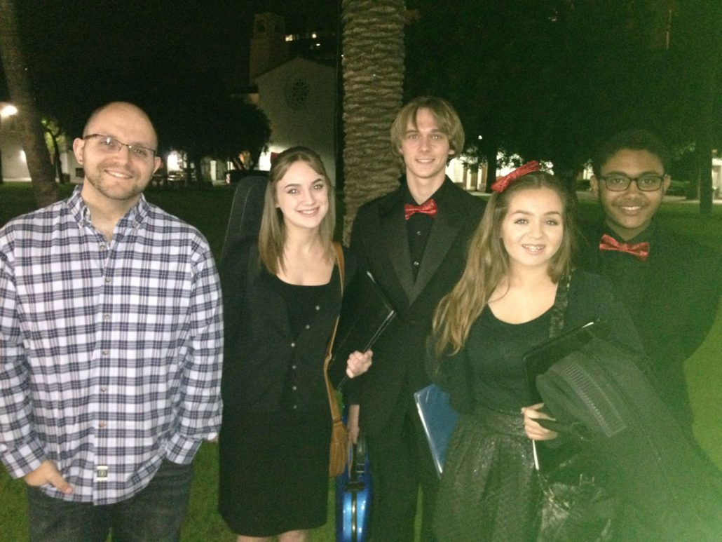 String Quartet First Concert